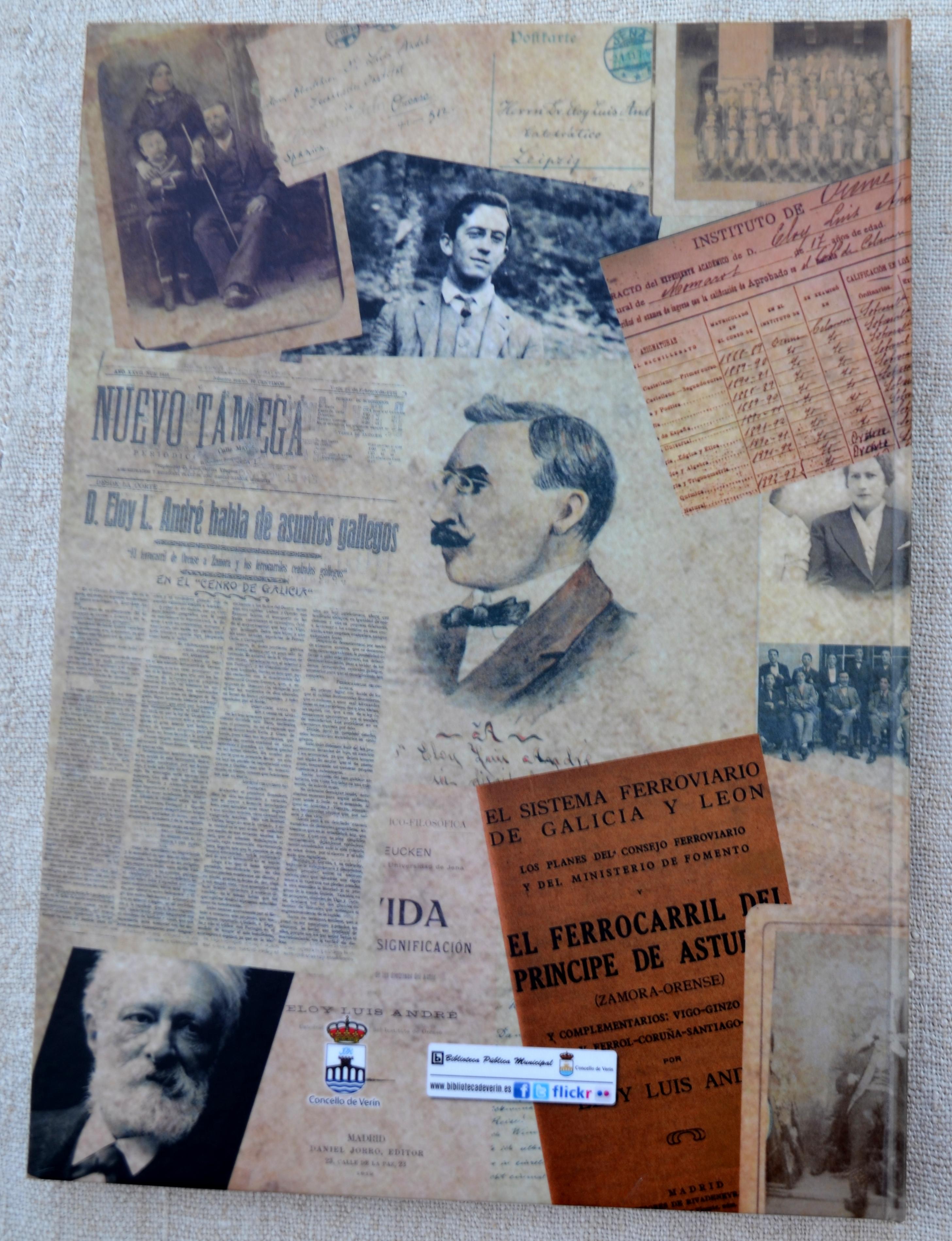 Libro sobre Eloy Luís André